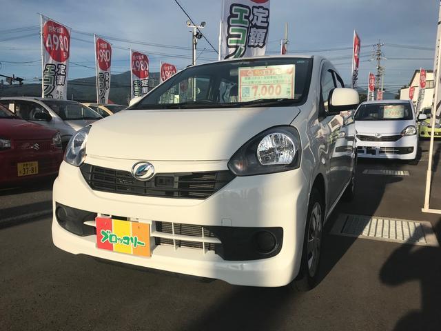 ダイハツ L SA 軽自動車 ETC 衝突被害軽減システム ホワイト
