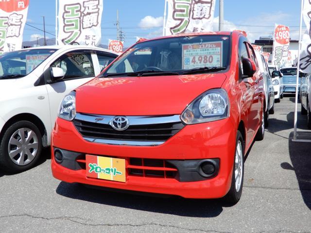 トヨタ X マニュアルエアコン 電動格納ミラー エコアイドル