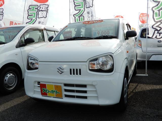 スズキ L 4WD キーレス CD シートH アイドリングストップ