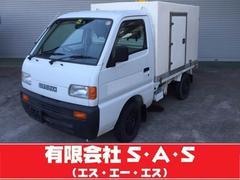 キャリイトラック保冷車 4WD 5速マニュアル