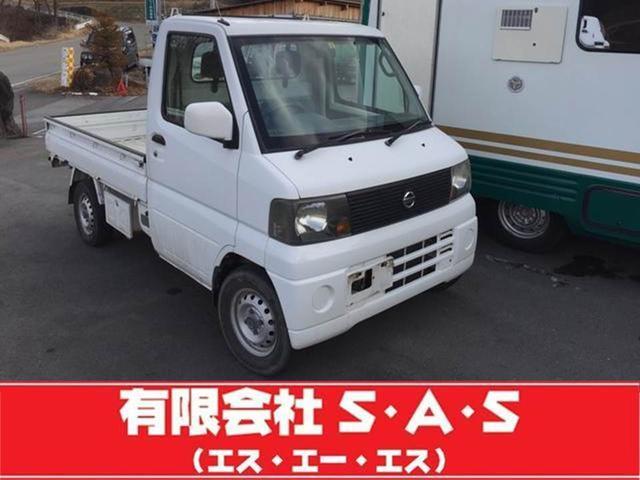 日産 DX 4WD 5速マニュアル パワステ付