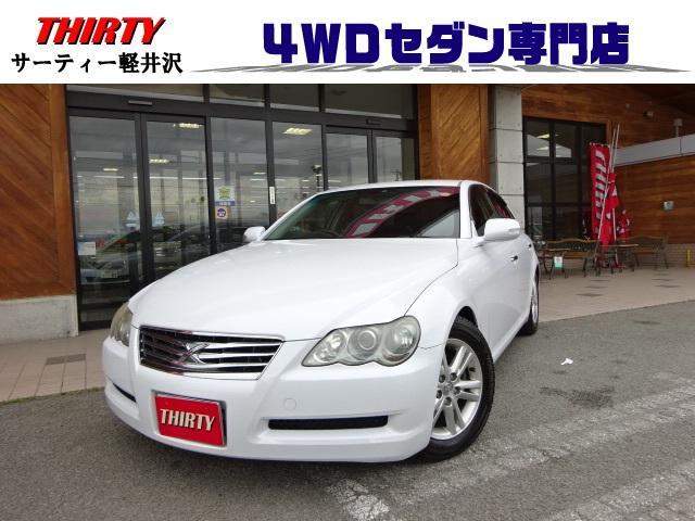 トヨタ 250G Four4WD 純正HDDナビ TV 後目 ETC