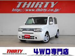 キューブ15X FOUR 4WD インテリキー リモコンエンスタ