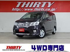セレナHスター V−SLC 4WD ナビ 天井モニタ W自動ドア