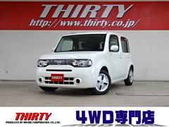 キューブ15X FOUR M−SLC 4WD ナビTV インテリキー