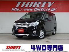 セレナHスター V−SLC 4WD ナビ 天井TV 両側電動ドア