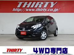ノートX FOUR 4WD ナビ ETC 衝突軽減 Pスタート