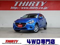 デミオ13C 4WD ナビTV Pスタート ETC i−stop