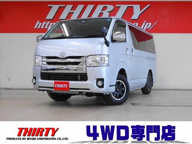 トヨタ スーパーGL ディーゼルターボ 4WD ナビTV ETC