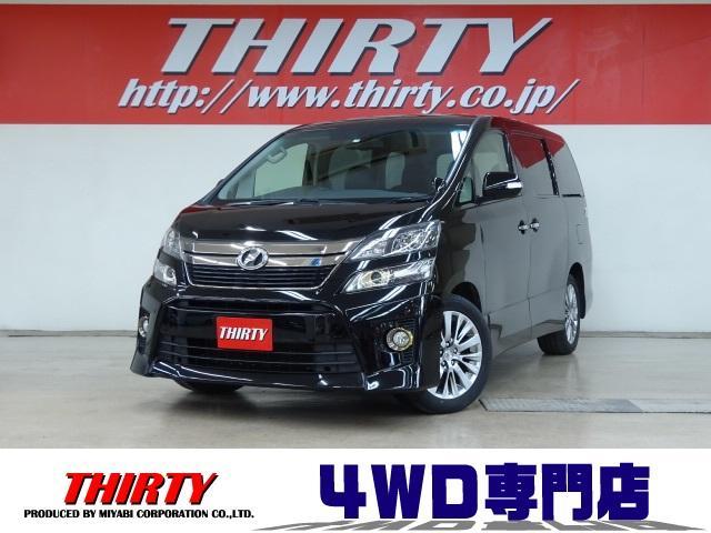 トヨタ 2.4Z ゴールデンアイズ 4WD ナビ FDM 3自動ドア