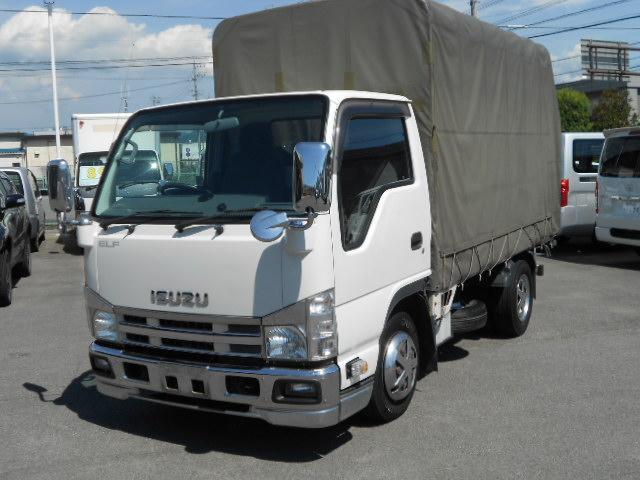 いすゞ フルフラットロー幌付1.5t3.0DT