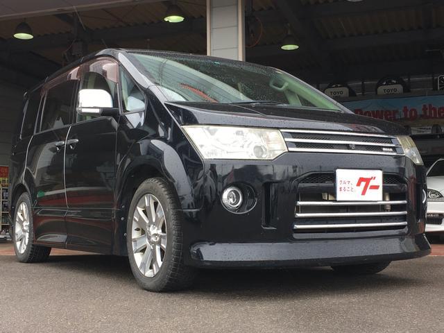 三菱 4WD ナビ ETC パワースライドドア エンジンスターター