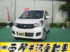 eKワゴンM 4WD アイドリングストップ シートヒーター