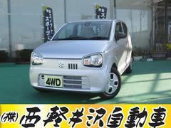 アルトL 4WD レーダーブレーキサポート アイドリングストップ