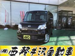 タントL SAIII 4WD アイドリングストップ シートヒーター
