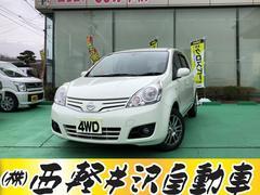ノート15G FOUR 4WD タイヤ新品