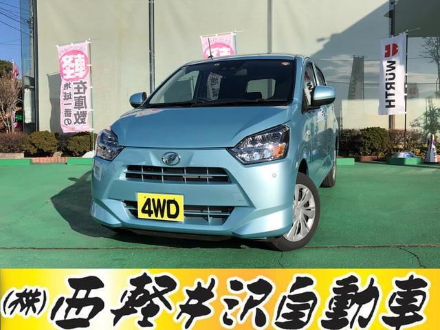 ダイハツ X SAIII 4WD アイドリングストップ キーレス CD