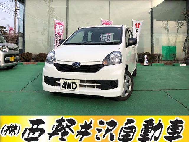 スバル FA 4WD アイドリングストップ キーレス CD