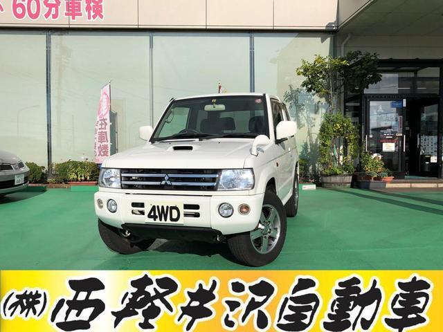 三菱 アクティブフィールドエディション 4WD ナビ 冬タイヤ