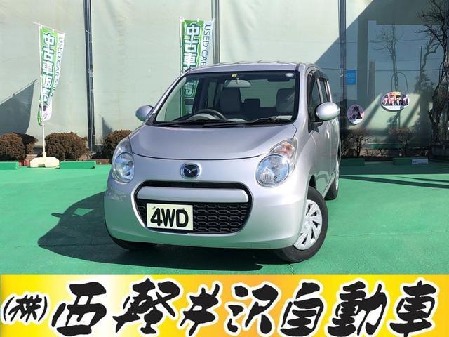 マツダ ECO-X 4WD スマートキー CD シートヒーター アイドリングストップ