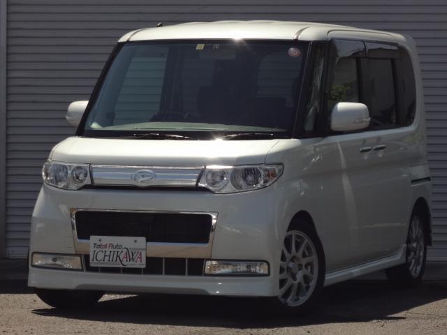ダイハツ カスタムRS 4WD ターボ 左側電動スライドドア ETC