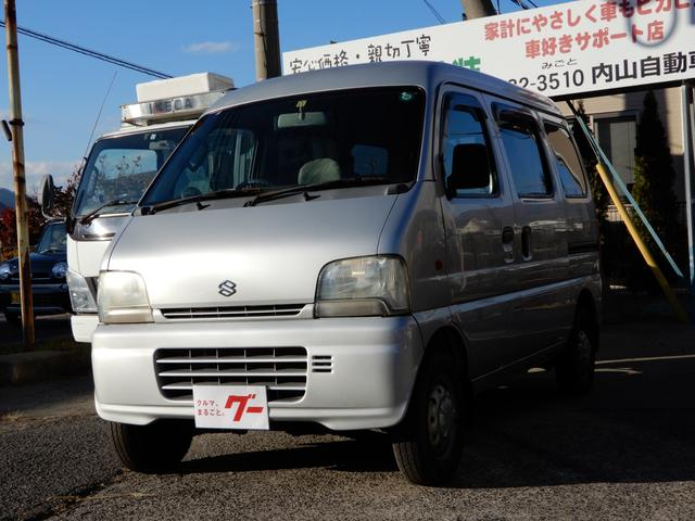 スズキ PA 4WD 5速マニュアル パワステ エアコン