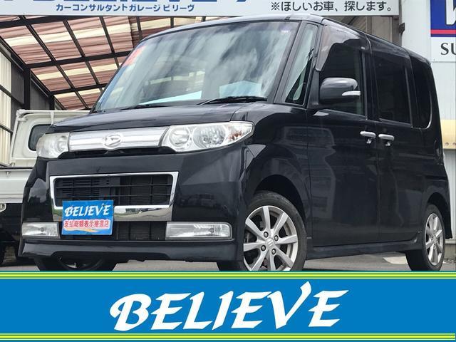 ダイハツ カスタムX 4WD ナビ TV DVD再生 ETC エンスタ