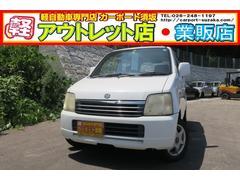 ワゴンRFG 4WD 5速マニュアル CDデッキ キーレス
