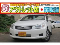 カローラアクシオX 4WD  ナビ