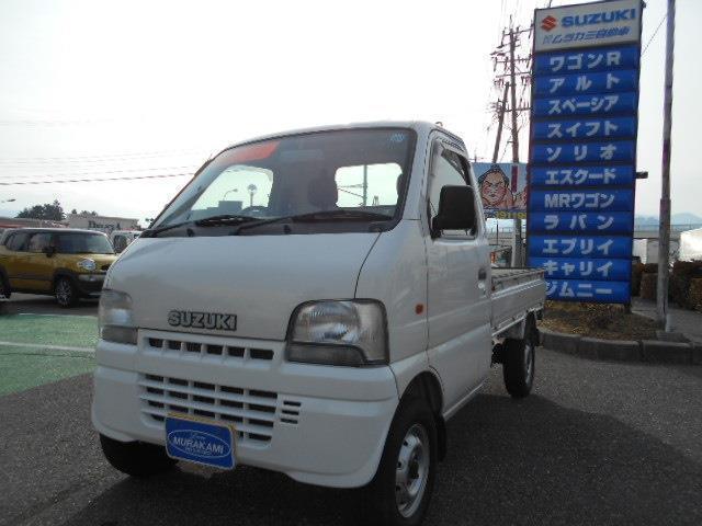 スズキ KU 3方開 4WD 5MT エアコン付