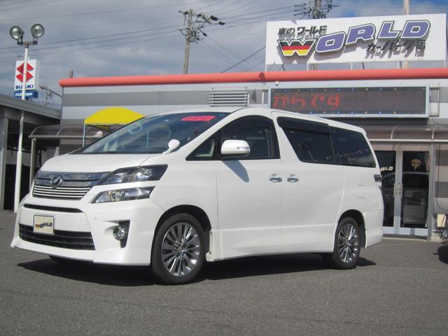 トヨタ 2.4Z ゴールデンアイズII 4WD 8インチナビ ETC