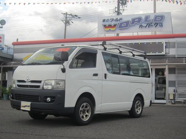 トヨタ DX ロング ディーゼルターボ 4WD 社外ナビ付 ETC
