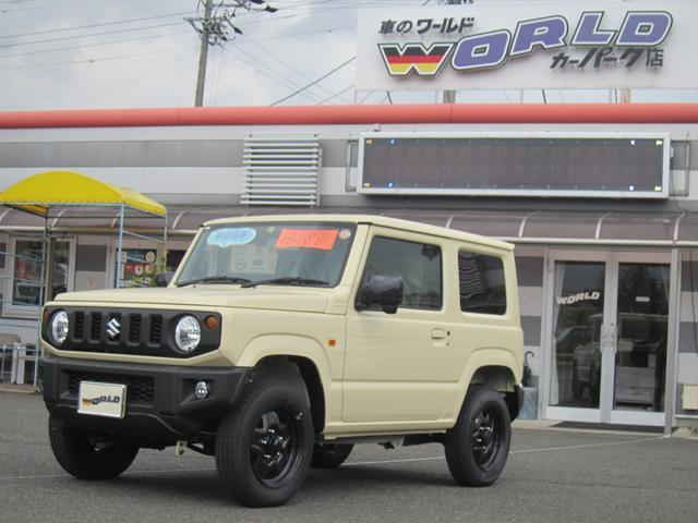 ジムニー(スズキ) XL 4WD シートヒーター スマートキー 盗難防止装置 中古車画像