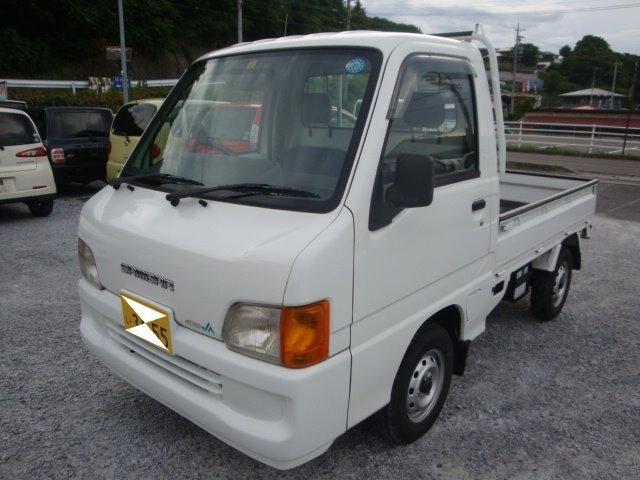 スバル JA 4WD マニュアル エアコン パワステ タイベル済