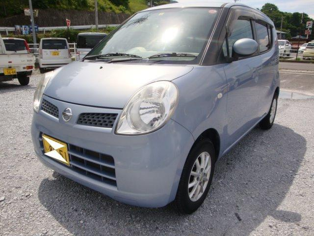 日産 モコ E 新品タイヤ 社外アルミ タイミングチェーン