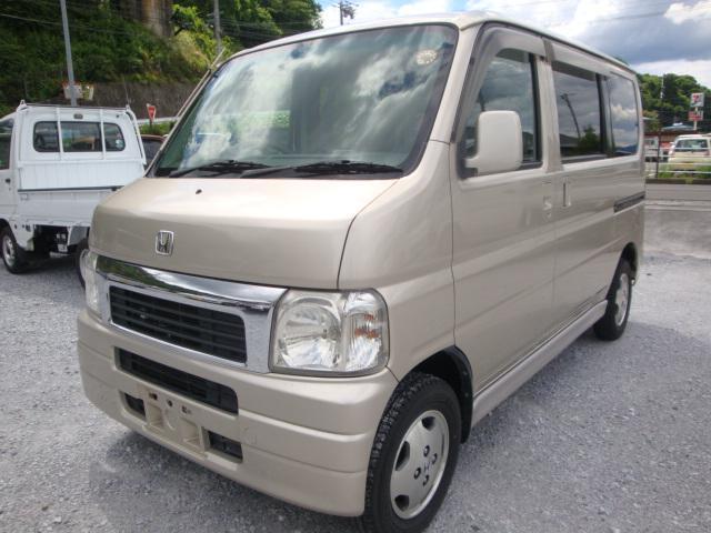 ホンダ バモス L 4WD マニュアル タイベル交換 ETC 純アルミ