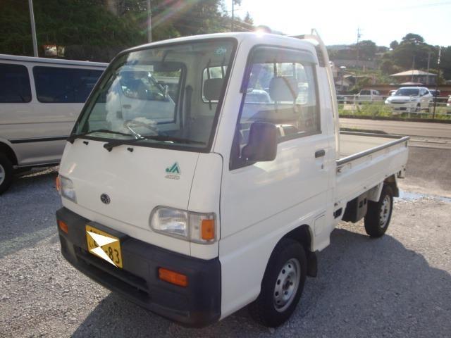 スバル サンバートラック JA 4WD マニュアル