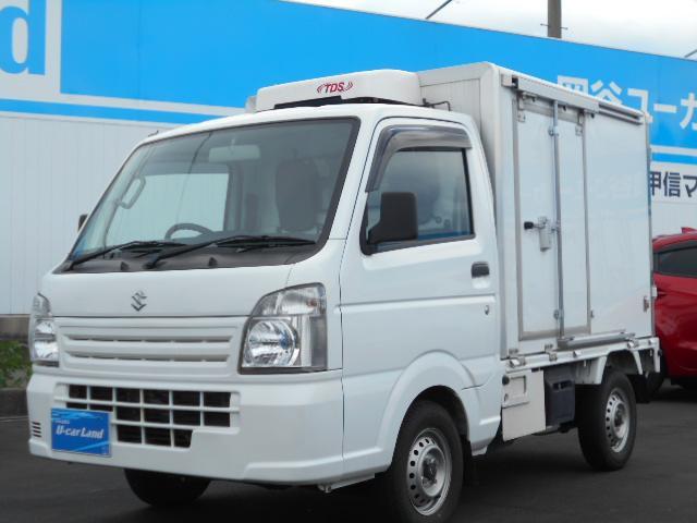 スズキ KCエアコン・パワステ 4WD 冷蔵冷凍車ー30°C