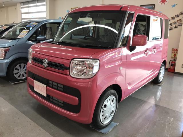 「スズキ」「スペーシア」「コンパクトカー」「長野県」の中古車