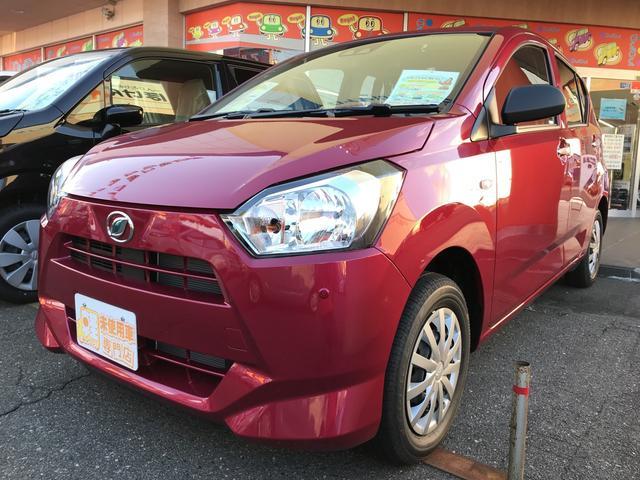 「ダイハツ」「ミライース」「軽自動車」「長野県」の中古車