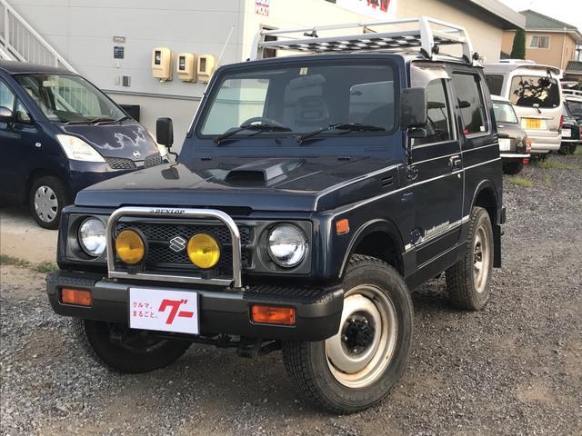 スズキ ランドベンチャー 4WD ターボ ルーフキャリア オートマ