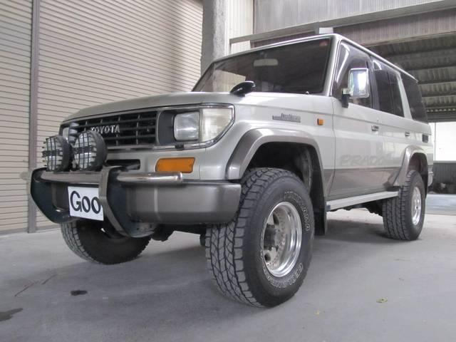トヨタ SXワイドLTD リフトアップ 純正ベージュ2カラー