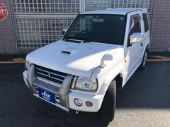 パジェロミニVR 4WD ターボ 15インチアルミ キーレス HDDナビ