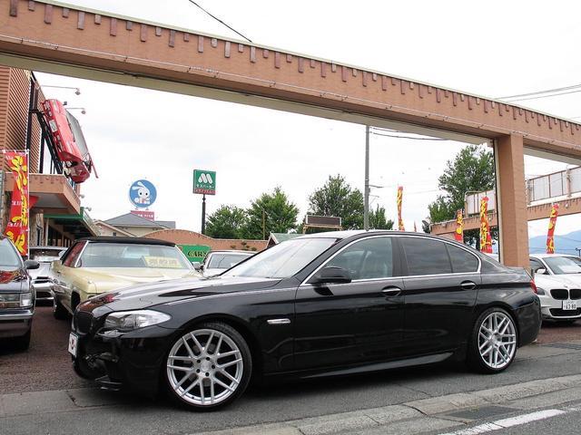 BMW 5シリーズ 528i コンフォートPkg M5仕様 20インチアルミ