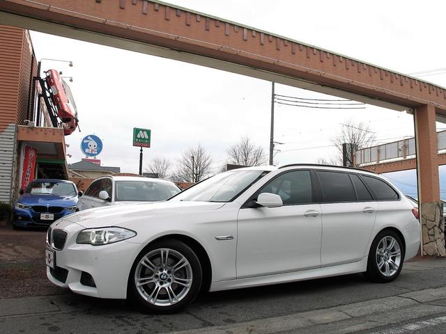 BMW 5シリーズ 523dブルーパフォーマンス ツーリングMスポーツP パノラマサンルーフ HDDナビ フルセグ Bluetooth CD DVD ETC バックカメラ コンフォートアクセス Mスポーツエアロ Mスポーツ18AW 専用アルカンターラシート ディーゼルターボ