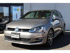 VW ゴルフ40thED 400台限定カラー車 純正メモリ−ナビ 地デジ
