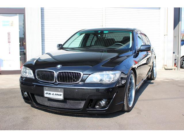 BMW 7シリーズ 740i NKBコンプリート サンルーフ 黒革...