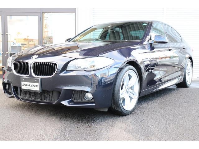 BMW 523dブルーパフォーマンスMスポーツPKG iDrive