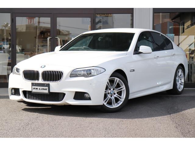 BMW 5シリーズ 523dブルーパフォーマンスMスポーツパッケージ ディーラー車 記録簿 アルカンターラコンビシート パワーシート コンフォートアクセス クルーズコントロール バックカメラ&PDC i-Drive アイドリングストップ レインセンサー パドルシフト