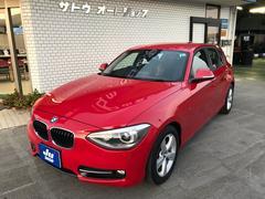 BMW116i スポーツ Pスタート 純正ナビ Bカメラ 16AW